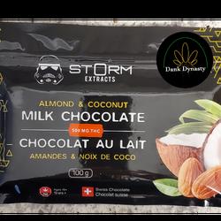 Storm 500mg Almond & Coconut Bars