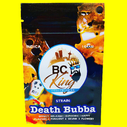 BC Kings Concentrates Death Bubba (shatter)