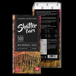 Milk Chocolate Sativa 500mg Shatter Bar