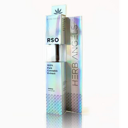 1000mg Pure RSO Syringe by Herb Angels