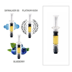 INDICA - THC Distillate Syringes (1000mg) by Elements Extracts