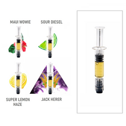 SATIVA - THC Distillate Syringes (1000mg) by Elements Extracts
