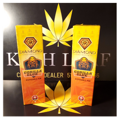 Gorilla Glue 1G Disposable Vape by Diamond Concentrates