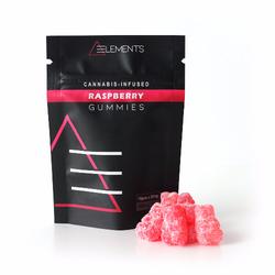 Elements - Raspberry Gummies 200mg