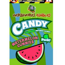 Herbivore Edibles - Watermelon Gummy 150mg THC