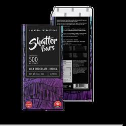 Milk Chocolate Indica 500mg Shatter Bar