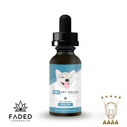 FADED PET CBD TINCTURES - 150mg CBD   30 ml (ON SALE)