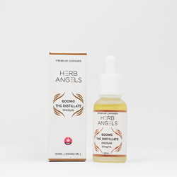 600mg THC Isolate Tincture (30ml) by Herb Angels