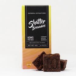 Sativa Shatter Brownies - 60mg Full Spectrum Extract