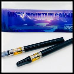 Misty Mountain Cannabis Vape Pens: 0.5ml (Rechargeable & Disposable)