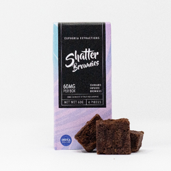 Indica Shatter Brownies - 60mg Full Spectrum Extract