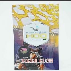 House of Glass (HOG) Extracts - BIKER KUSH (Indica)