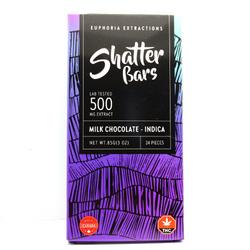 Euphoria Extractions Indica Shatter Bar