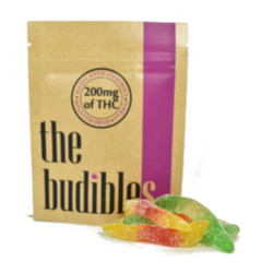 THE BUDIBLES | WIGGLYWORMS | 200mg THC