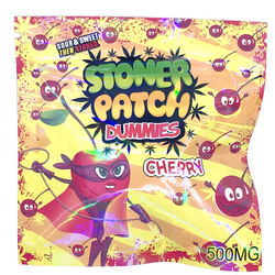 Stoner Patch Dummies 500mg THC, CHERRY  - Sour, Sweet, then Stoned. *LIMITED QUANTITY*
