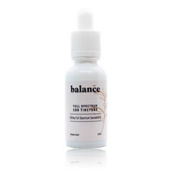 Balance – 600mg Full Spectrum CBD Tincture (30ml)
