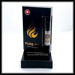 Pure THC Oil Vape Pen Cartridge - Pomegranate 0.5mL 96%THC, 96.5%CBD