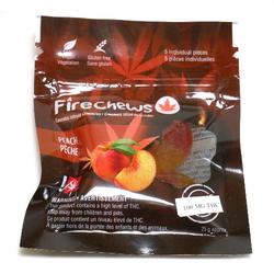FireChews - THC Gummies | Peach (200mg)