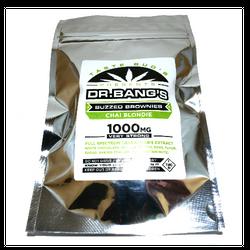 Taste Buds - Dr Bang's THC Brownies   Chai Blondie (1000mg)