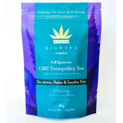 High Tea – CBD Tranquility Tea