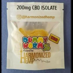 Harmonized Hemp Dummy Worms 200mg (CBD)