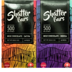 Shatter Bars By Euphoria Extracts 500mg