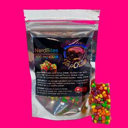 Gummy Bites (500-MG-THC)-Flavours in description