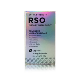250mg RSO Capsules Daily Supplement