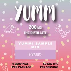 YUMM - YUMMI SAMPLE MIX 200MG-Hybrid