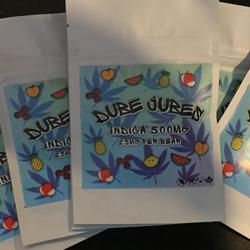 DUBE JUBES - INDICA - 500mg / 25mg per Piece