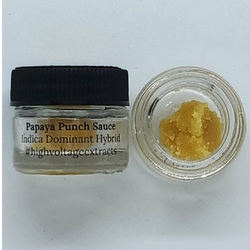High Voltage Extracts-Papaya Punch Sauce-Hybrid
