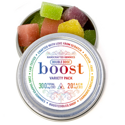 Boost CBD Variety Pack Gummies - 150mg