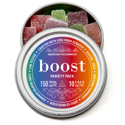 Boost THC Variety Pack Gummies - 150mg