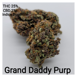 Grand Daddy Purple AAAA Indica Dominate