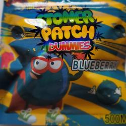 Edible gummies blue berry
