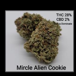 Mircle Alien Cookies AAAA+ Indica Dominate