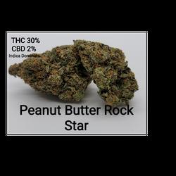 Peanutbutter Rockstar AAAA Indica Dominate