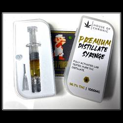 House Of Chronic 1G Distillate Syringes (2/$50)