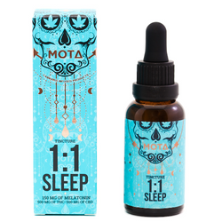 Mota THC/CBD 1:1 Sleep Tincture