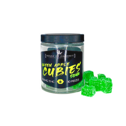"""""""House Of Chronic"""" GREEN APPLE CUBIES SOUR (1500mg)"""