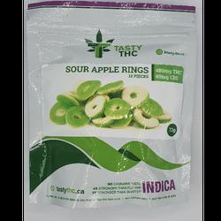 TASTY THC-SOUR APPLE RINGS (INDICA/SATIVA/HYBRID)