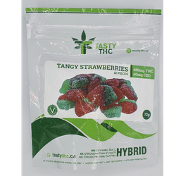 TASTY THC-TANGY STRAWBERRIES (INDICA/SATIVA/HYBRID)
