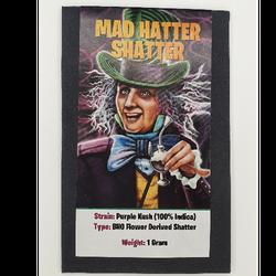 MAD HATTER SHATTER-PURPLE KUSH