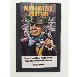 MAD HATTER SHATTER-POUND TOWN