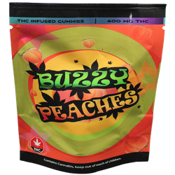 *****1BUZZY PEACHES GUMMIE (400mg) ***