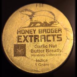 Honey Badger HTCE - 1gr - Garlic Nut Butter Breath