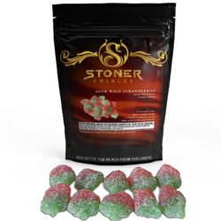 Sour Wild Strawberry Gummies