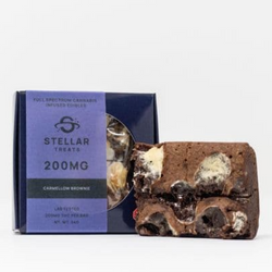 Stellar Treats - 200mg - Caramellow Brownie
