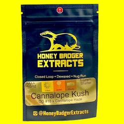 Honey Badger Extracts Cannalope Kush(Shatter)