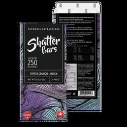 Eu4ia :: Toffee Crunch Indica 250mg Shatter Bar